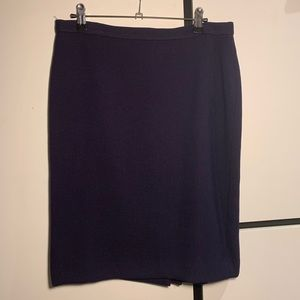 Anne Klein eggplant pencil skirt
